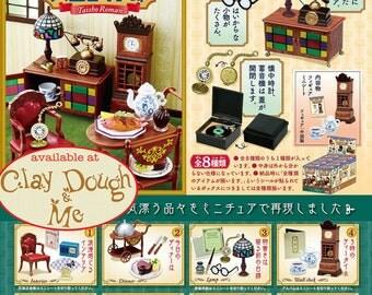 Re-ment Taisho Roman House/ Re-ment Taisho Era House/ Re-ment Taisho Era Furniture