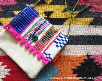 Mexican Crossbody Bag - Colorful Boho Shoulder Sling Bag - Gift for Her / Gift for Best Friend