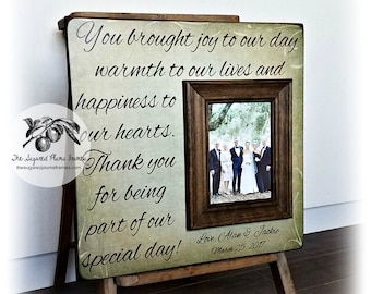 Parent wedding gift, Parent thank you Gift, Parent wedding gift frame, Parent gift ,Brought Joy To Our Day, 16x16 The Sugared Plums