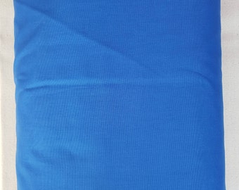 "Solid Medium Blue 108"" wide back 100% cotton fabric"