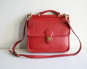 Red Coach Willis Satchel