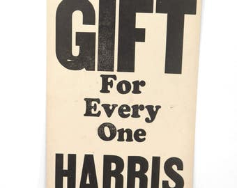 Vintage Cardboard Jewelry Store Sign, A GIFT for Every One, Shop Display, Advertising