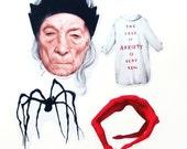 Louise Bourgeois -  4 Sticker set