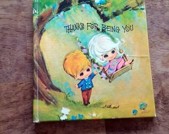 Thanks for Being You American Greetings Sunbeam Library Little Collectible Book