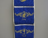 One, Two, Three, Four or Five Pocket Fish Extender with Gold Embroidery