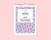2017 Wall calendar PATTERNS - Limited edition