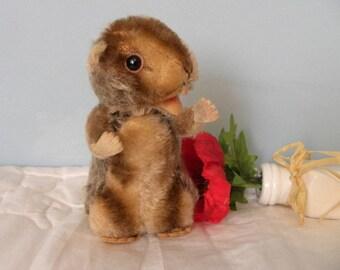Mohair Beaver - Steiff Beaver - 1950's Toy