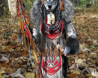 Grey Wolf Manitou (Spirit or Totem)
