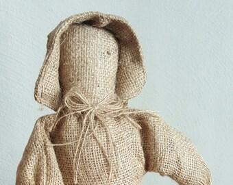 Vintage Burlap Doll