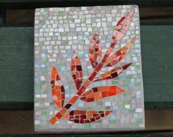 Garden outdoor wall art - Red Vine