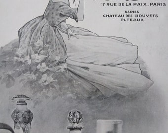 Original Vintage French Ad  D'Orsay Parfum  1913