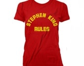 Stephen King Rules Monster Squad WOMEN'S T-shirt