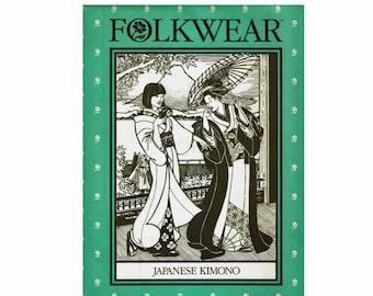 Japanese Kimono Clothing Folkwear Uncut Sewing Pattern 113 Yukata Kimono