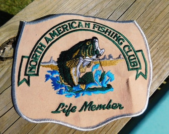 Fishing club etsy for North american fishing club