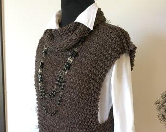Knitting Pattern / Knit Sweater pattern/ Knit Vest Pattern / Cardigan Pattern / Oversized Knitting /  PDF pattern