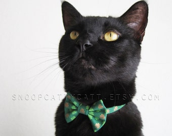 Cat Bow Tie - Pot of Gold
