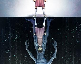 I Am The Monster - Stranger Things 12x18 print
