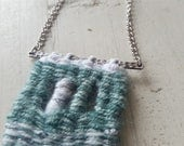 Window - woven necklace