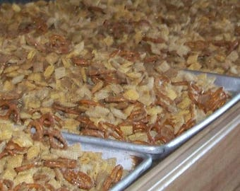 Maple Nut Party Mix / Vermont Maple Syrup / Maple Snack/ 2 oz Snack Size