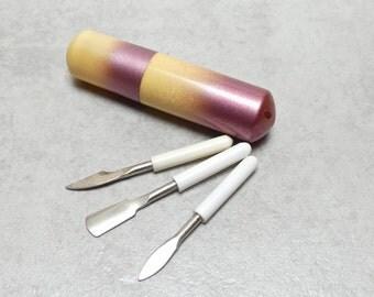 Art Deco Bakelite Miniature Manicure Set