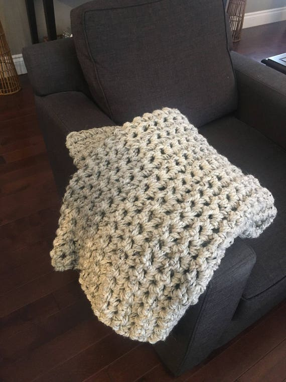 Chunky Throw, afghan, super bulky blanket, crochet blanket, chunky afghan, crochet afghan, super chunky blanket, throw, colors and sizes