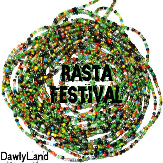 Rasta Festival ~ YourWaistBeads.com