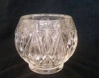 Vintage Avon Candle Holder Bowl