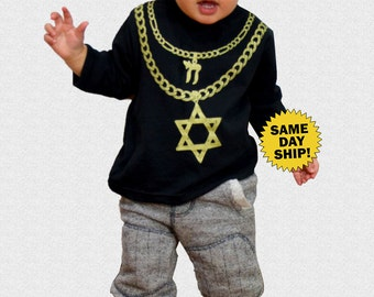 KIDS JEW CHAINZ Long Sleeve