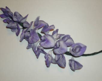 Gumpaste Wisteria Branch for Wedding and Special Event Cakes