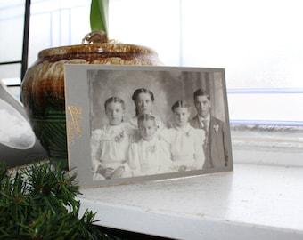 Antique Photograph Victorian Children 1800s Cabinet Card