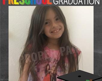 Preschool Graduation - Pre-school Graduation - Preschool Graduation Photo Prop - Preschool Prop - Preschool Photo - Preschool