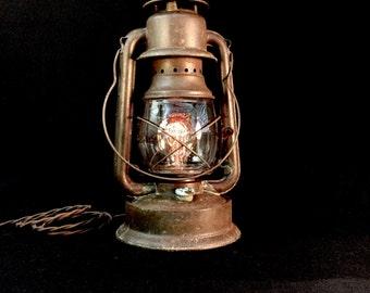 Table Lamp Electrified Lantern