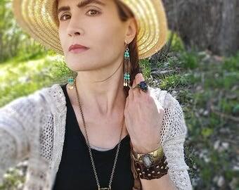GYPSY LUXE SUMMER Earrings - 4 Colors - 90mm
