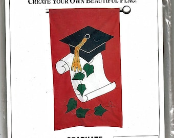 Graduate / The Flag Factory Uncut Sewing or Aplique Pattern 63867