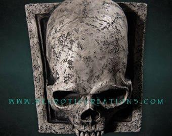 Gothic Skull Keystone