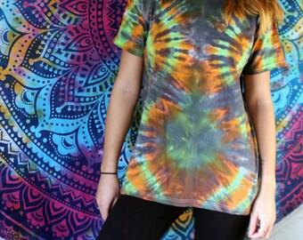 Tie Dye T Shirt - Tie Dye Top - Hippie Shirt - Mens T Shirt - Mens Top