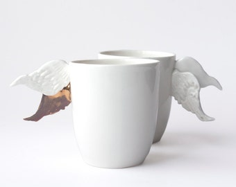 Porcelain Cup With Wings