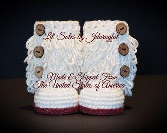 Crochet Baby Shoes, Crochet Baby Booties, Crochet Baby Boots, Off White Baby Shoes, White Baby Booties, Baby Shoes Crochet, Baby Girl Shoes