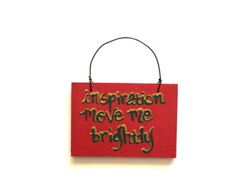 Small Grateful Dead Sign - Terrapin Station Song Lyric Art - Small Sign - Inspiration Move Me Brightly - Decoration - Holiday