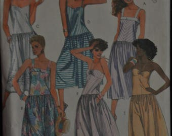 Misses' Sundresses -Size 6/8/10 - UNCUT - McCall's 2047