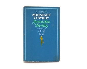 MIdnight Cowboy by James Leo Herlihy Book Club Edition HC w/Jacket
