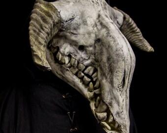 Krampus, demonic devil mask