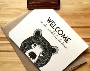 Welcome Baby Series - Moose, Bear