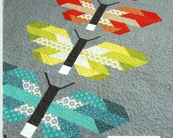 Frances Firefly Quilt Pattern, Elizabeth Hartman, DIY Quilting Sewing Crafting