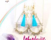 Magical Energy Earrings - Labradorite