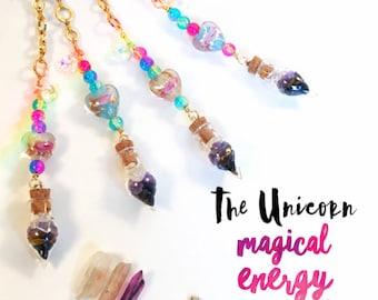 Magical Energy Car Charms - Unicorn Edition