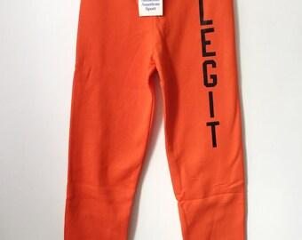 legit vintage X russell sweatpants mens size small
