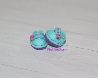 LATI WHITE Shoes ~ Aqua Blue ~ Candy Drops Collection ~ Only 1 pair In Stock