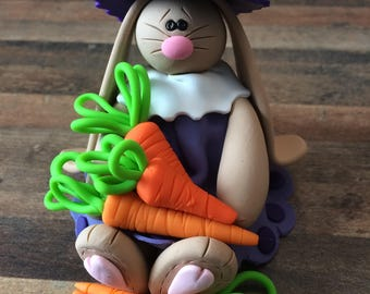 Polymer Clay Easter Bunny