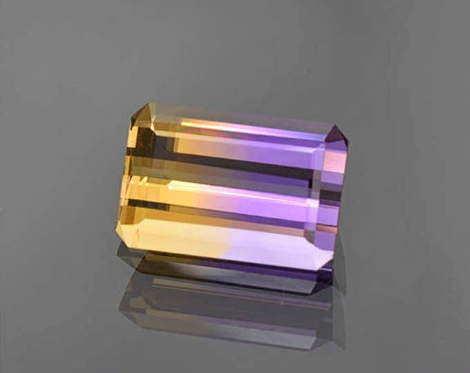 SALE EVENT! Excellent Bi-Color Ametrine Gemstone from Bolivia 10.63 cts.